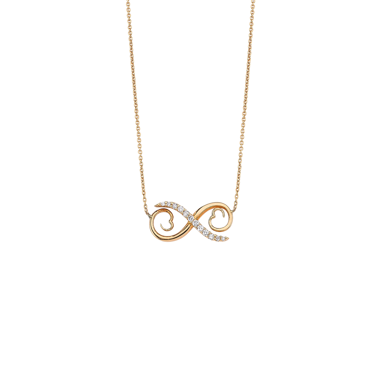 Diamond Infinity Necklaces