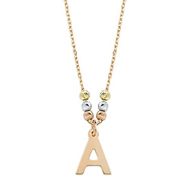 Gold Letter Necklaces