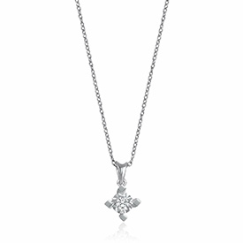 Solitaire Diamond Necklaces